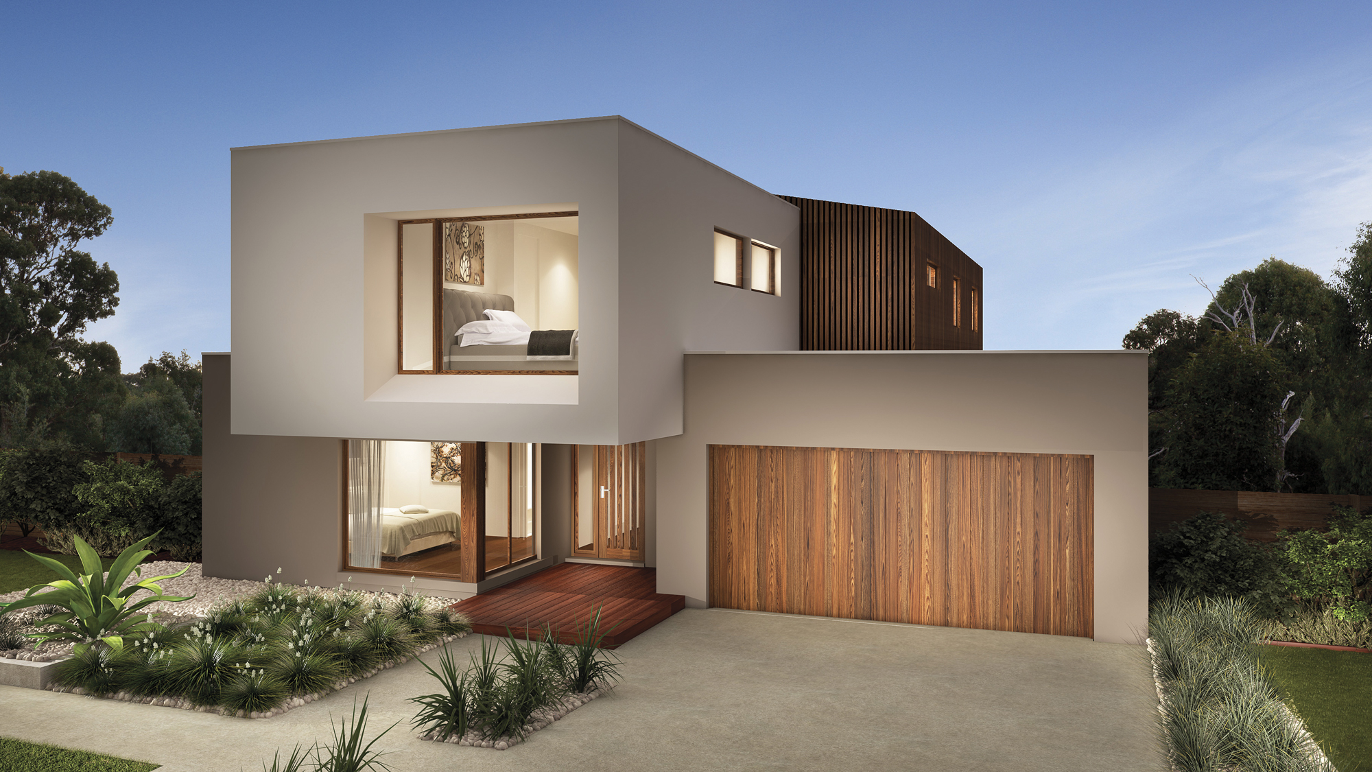 Q1 for Double story home designs melbourne