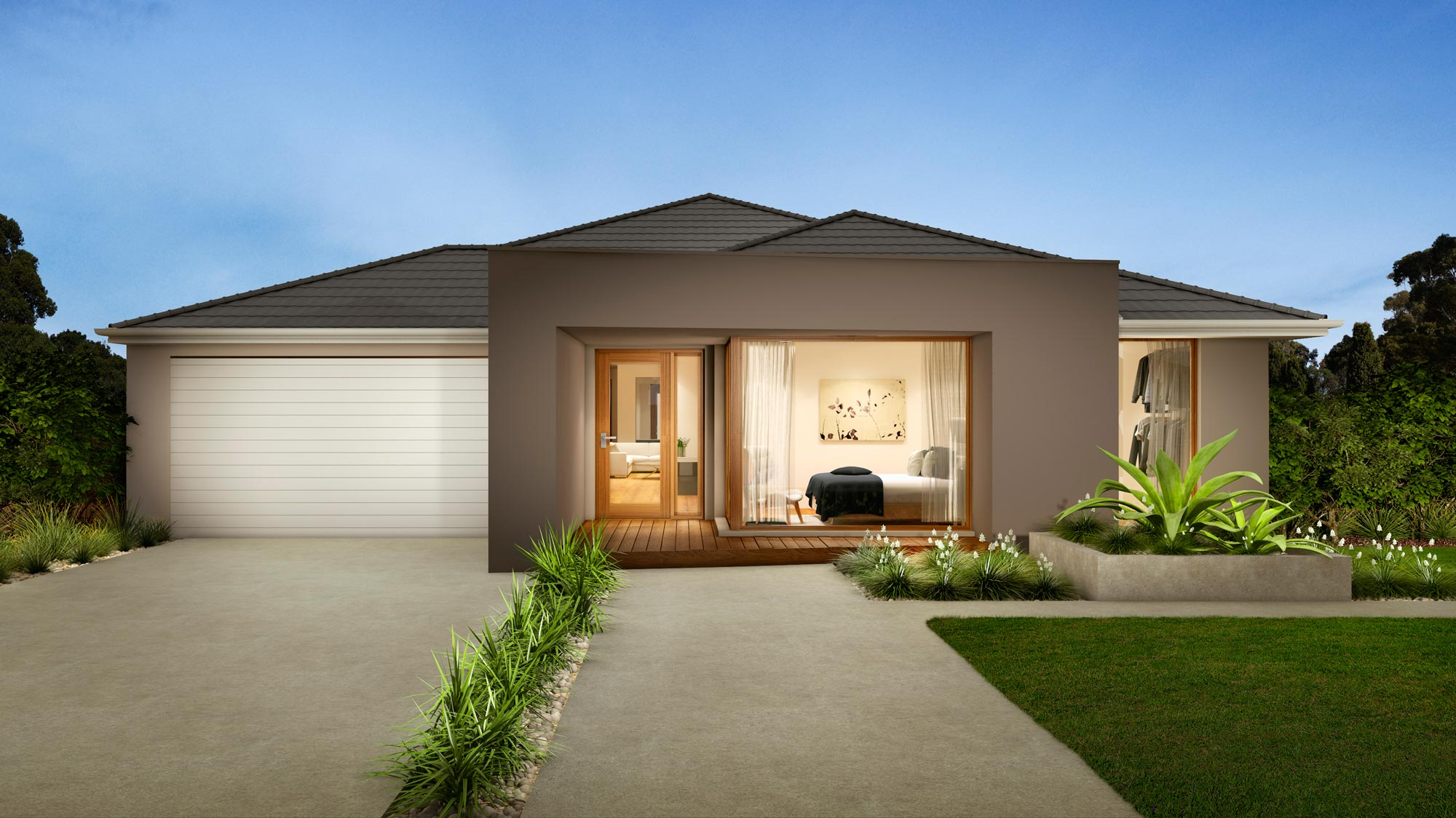 Q3 for Modern house plans under 200k to build